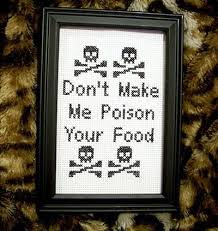 Funny Cross Stitch Patterns Free Simple 48 WTF Cross Stitches SMOSH