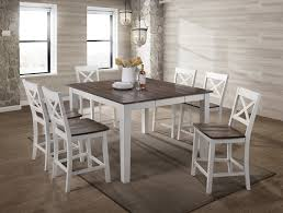 Sterling Counter Height Dining Table White