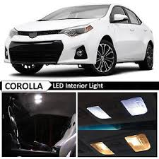 toyota corolla 2015 white. Interesting Corolla Image Is Loading WhiteInteriorMapDomeLEDLightBulbPackage In Toyota Corolla 2015 White