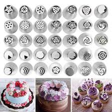 Cake Decorating Tools List