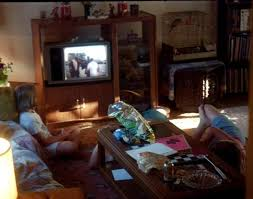 kids watching tv at night. the kids watched iron eagle ii before air show watching tv at night l