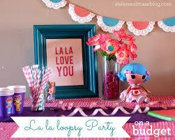 Lalaloopsy Bedroom Lalaloopsy Birthday Party Ideas On A Budget My Sisters