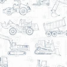 3764ff15ec47e2c1642ab94476dbf47e york wallcovering cool kids construction blueprint wallpaper ks23 on plumbing job sheet template
