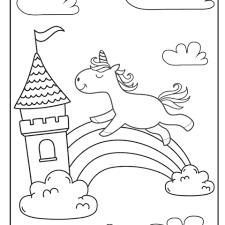 Heb je ook wat glitters om je kleurplaat mee te versieren. 75 Gratis Eenhoorn Unicorn Kleurplaten Om Te Printen Voor Volwassenen