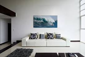 this 4 x 8 panel is comprised of three sections and covered with custom printed fabric though not in a home theater the concept of using a sectional
