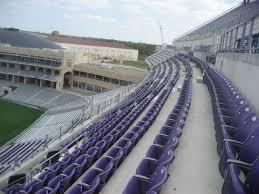 Tcu Football Seating Chart Amon Carter Stadium 300 Level Football Seating
