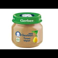 <b>Пюре Gerber груша</b> Вильямс | Отзывы покупателей