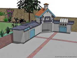 options for an affordable outdoor kitchen