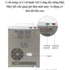 Máy nước nóng lạnh, Cây nước nóng lạnh mini Huastar tiết kiệm điện,có rơ re  tự ngắt chống giật - HÀNG CHÍNH HÃNG CAO CẤP - Máy lọc nước có điện