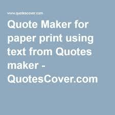Picture Quote Maker