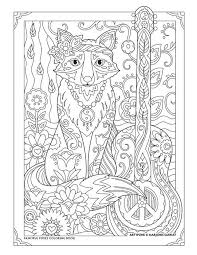 Small Picture 197 best catsowldogfox coloring book images on Pinterest