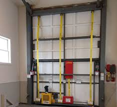 16 ft garage door16 Ft Tall RV Garage Door Has Ingenius Design to Appear Half Its