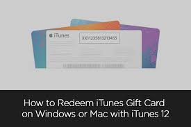 how to redeem itunes gift card on windows or mac with itunes 12 jpg