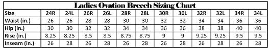 Ovation Helmet Size Chart Ovation Riding Helmet Sizing Chart 2019