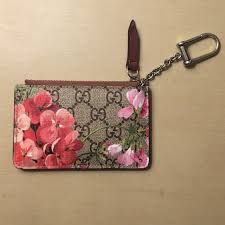 gucci key pouch. gucci accessories - (limited edition) blooms key case pouch c