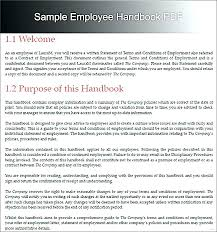 Company Training Policy Template 9 Free Documents Download Policies ...