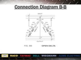 transformer seminar buck boost connection diagram b b
