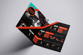 Gym Brochure A24 Gym Fitness Brochure Template In PSD Ai Vector BrandPacks 7