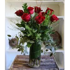 a dozen long stem roses coleen s style