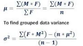 solution 3 source grouped data standard deviation calculator formula to find mean standard deviation variance for frequency distribution table