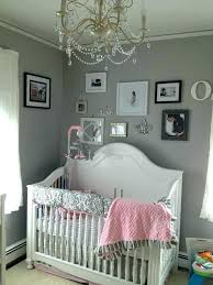 pink and brown baby room ideas gray chandelier grey white nursery sample themes tremendous classic