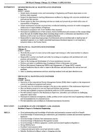 Noc Engineer Resume Sample Best Of Inspiration Mechanical And ...