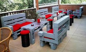 pallet outside furniture. Recycled Pallet Patio Furniture Outside