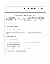 Recurring Payment Authorization Form Ach Authorization Form Template Recurring Payment Authorization Form