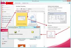 Ms Access 2007 Templates Download 3 Ways To Create Access 2007 2013 Database