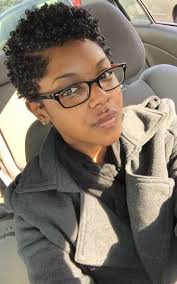Short Natural Afro Hairstyles 25 Best Ideas About Short Natural Styles On Pinterest Short