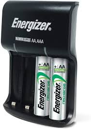 Energizer Battery Charger Green Light Mean Energizer Recharge Basic Charger With 2 Aa Nimh Rechargeable Batteries Included Led Indicator
