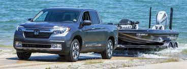 how much can the 2020 honda ridgeline tow