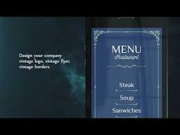 <b>Vintage</b> Design - Make Menu and Logo Template - Apps on Google ...