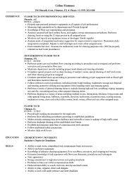Floor Tech Resume Samples Velvet Jobs