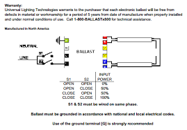 light rapid start ballast wiring diagram universal ballastar energy management b228pu115s50d 2 lamp f28t5 universal b228pu115s50d wiring diagrams