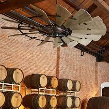 rustic ceiling fans. 60\ Rustic Ceiling Fans