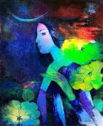 Image result for tranh nguyễn sơn
