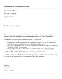 Journalism Internship Cover Letter Npr Internship Cover Letter Mwb Online Co