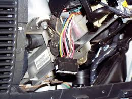vehicle show large image this picture shows the ignition switch harness plug removed