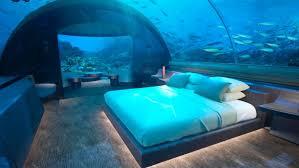 underwater hotel room at night. Underwater Hotel Room At Night A