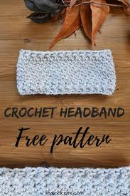 Easy Crochet Headband Pattern Magnificent Design Ideas