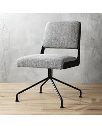 cb2 office. Rue Cambon Grey Tweed Office Chair By CB2 Cb2