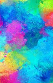 Rainbow Paint Effect Scientific Mathematical Graph Paper Journal