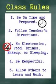 classroom rules template customizable design templates for classroom rules postermywall