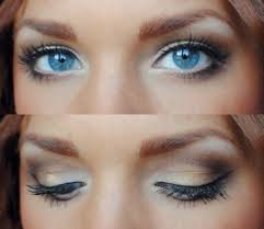 eye makeup for blue eyes natural