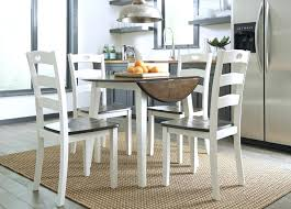 drop down dining room tables round drop leaf table 4 dining room side chairs drop leaf