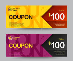 coupon design gift voucher card template design for special time coupon temp