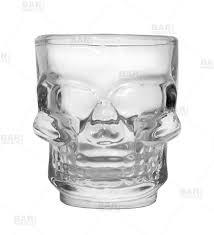 barconic 1 5 oz skull shot glass
