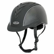 Details About Lami Cell Elite Riding Helmet Black Carbon V Horse Western Helmet