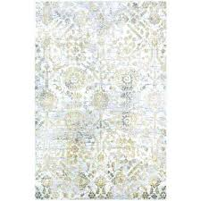 gold silver ivory 2 ft x 3 area rug and n cg gold silver area rug